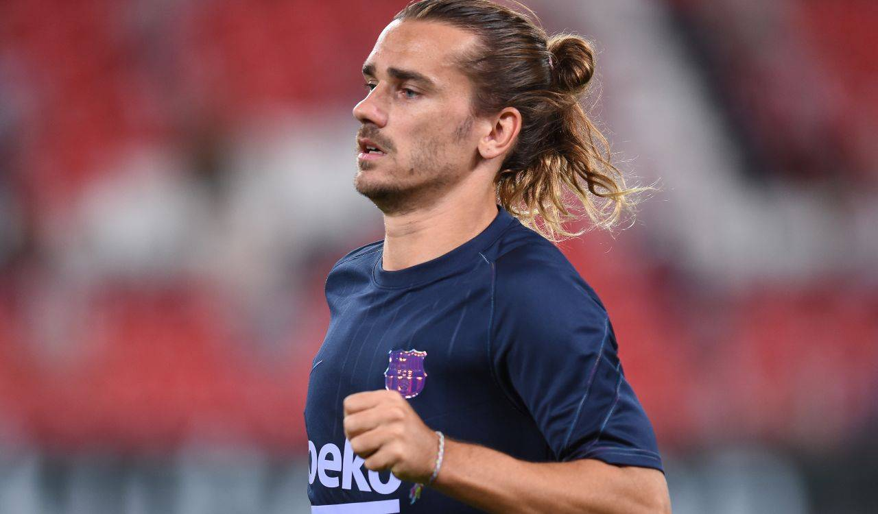 Griezmann in campo