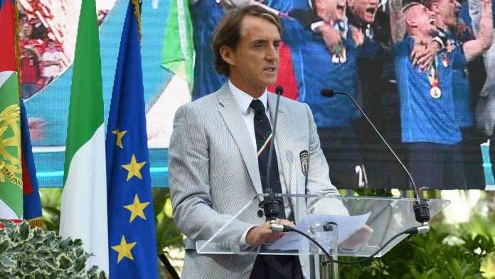 Discorso di Mancini dopo la vittoria dell'Europeo