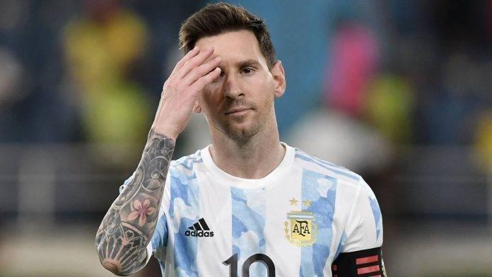 Messi deluso