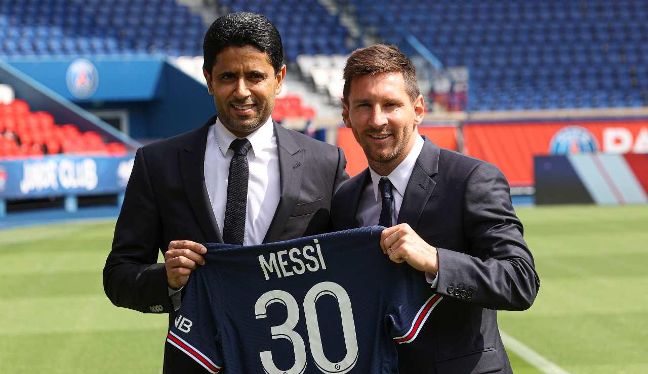 Messi e Al-Khelaifi