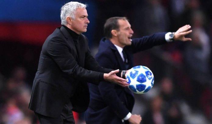 Mourinho e Allegri