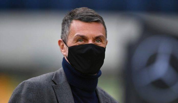 Paolo Maldini, dt del Milan