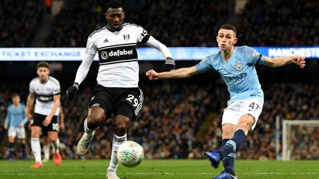 Anguissa in azione con la maglia del Fulham