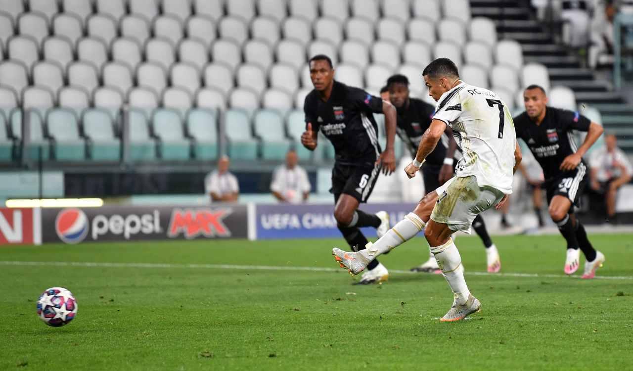 Ronaldo dal rigore