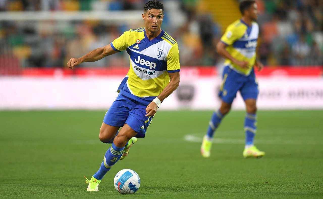 Ronaldo contro l'Udinese