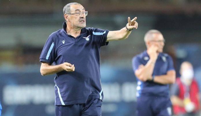 Maurizio Sarri dà indicazioni