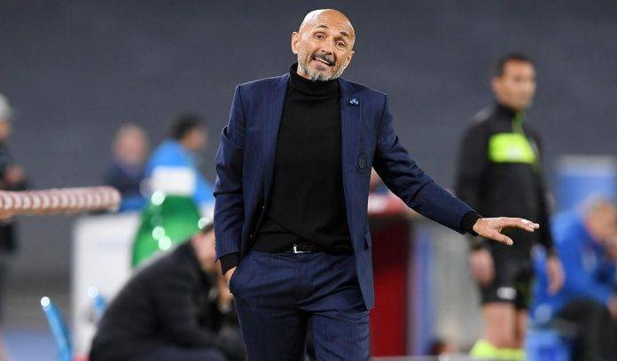 Spalletti in panchina