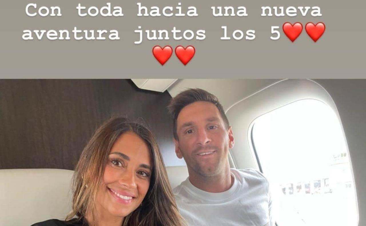 Storia della moglie di Messi