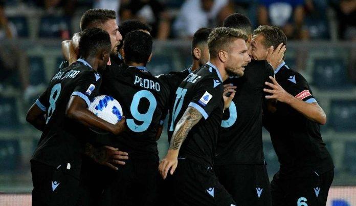 Esultanza Lazio