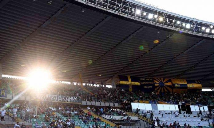 Hellas Verona-Roma, lo stadio Bentegodi