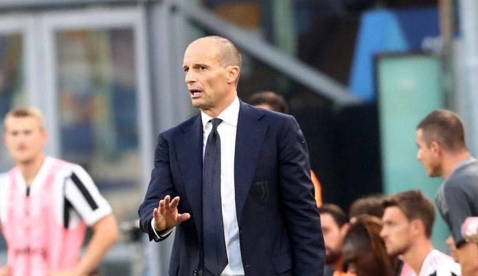 Allegri, allenatore della Juventus