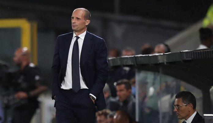 Juventus, Massimiliano Allegri in panchina