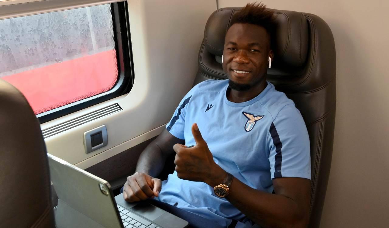 Caicedo in treno