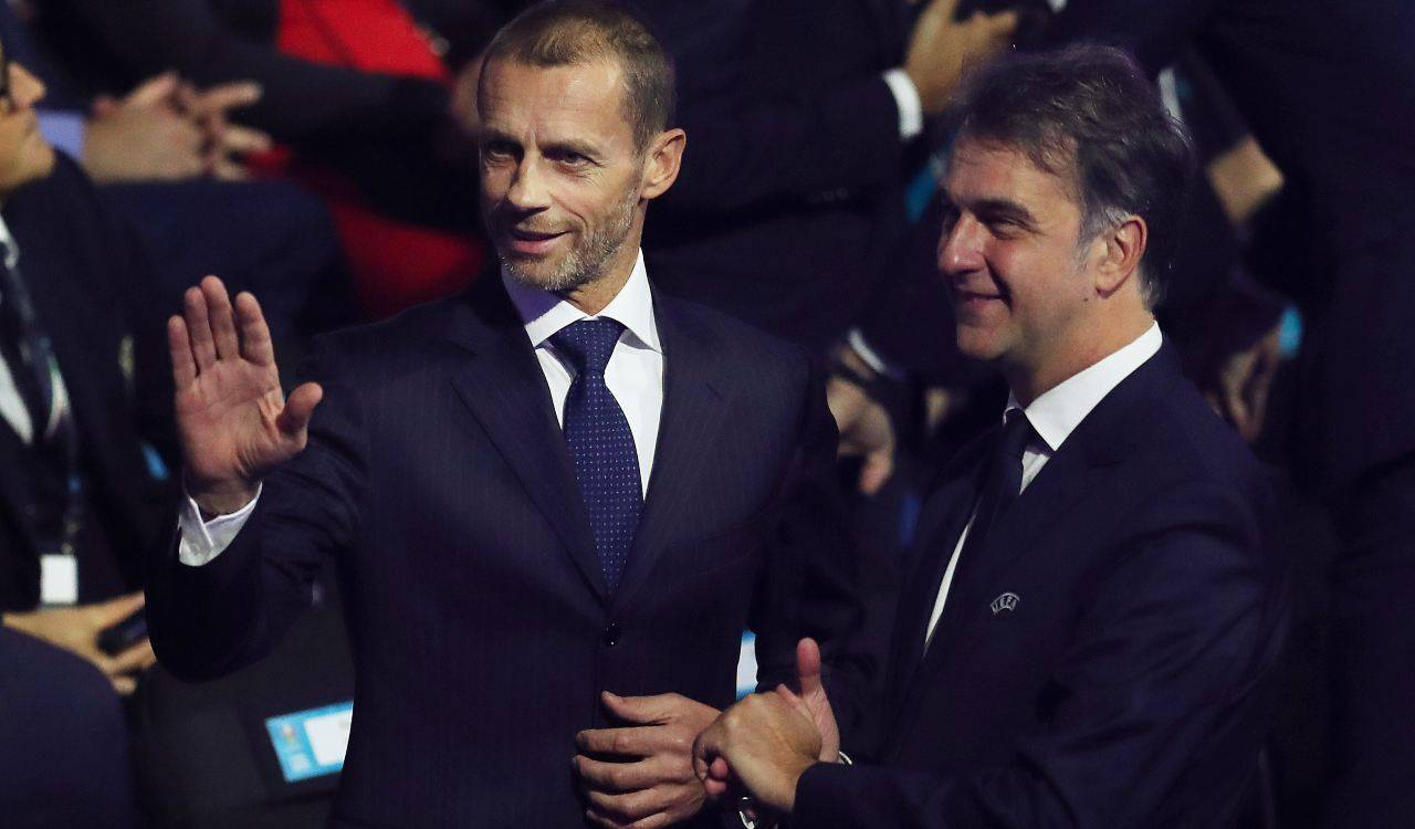 Ceferin presidente UEFA