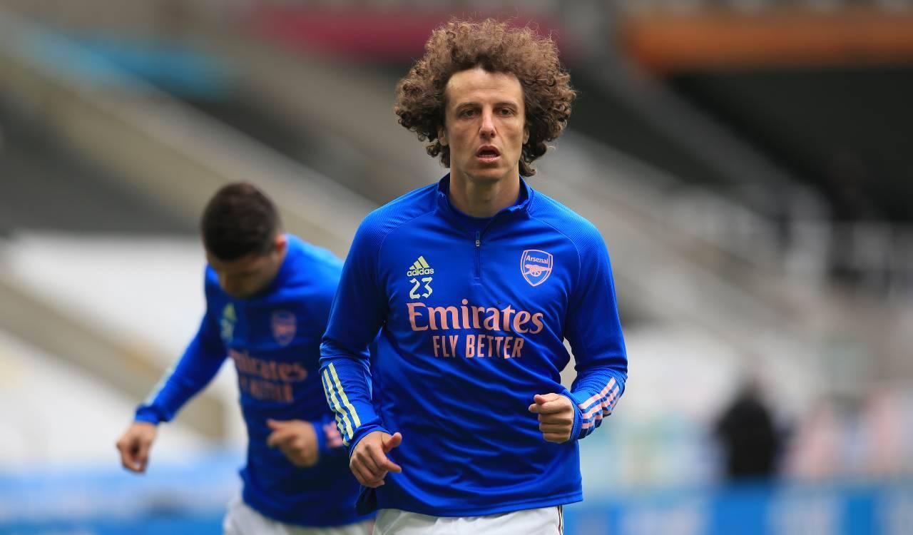 David Luiz in campo