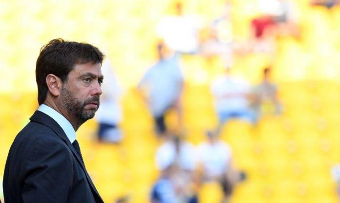 Agnelli durante Parma-Juventus