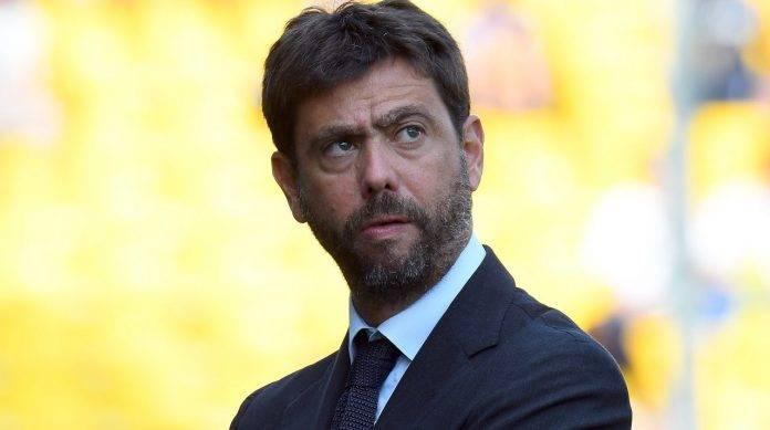 Il presidente della Juventus Agnelli