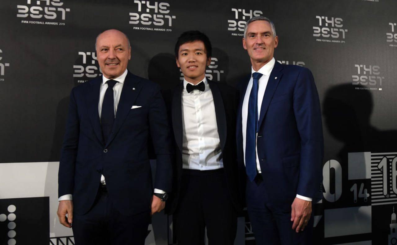 Inter, Zhang con Marotta e Antonello