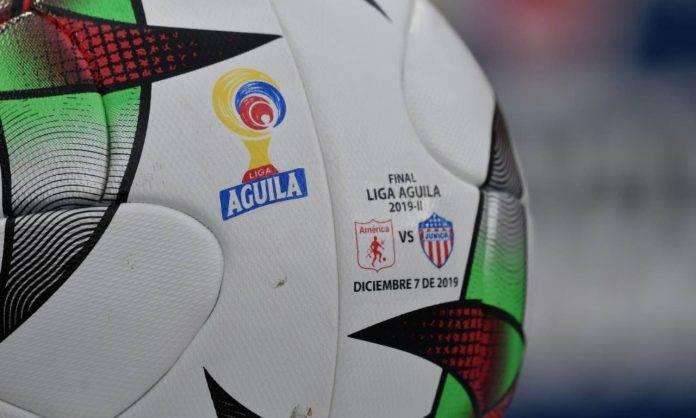 Pallone Liga Aguila Colombia