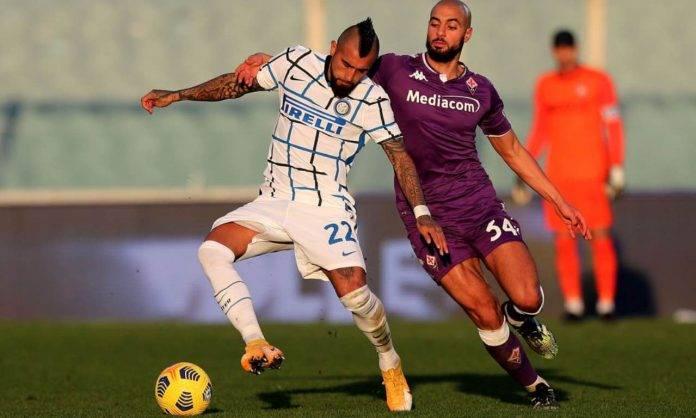 Amrabat in Fiorentina-Inter