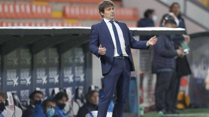 Conte in panchina