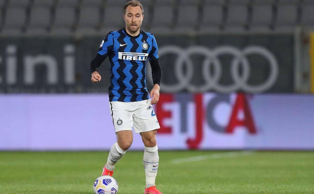 Eriksen in Spezia-Inter