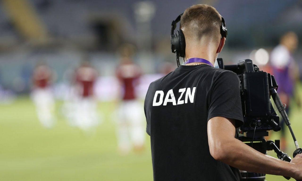 L'operatore di DAZN in Serie A