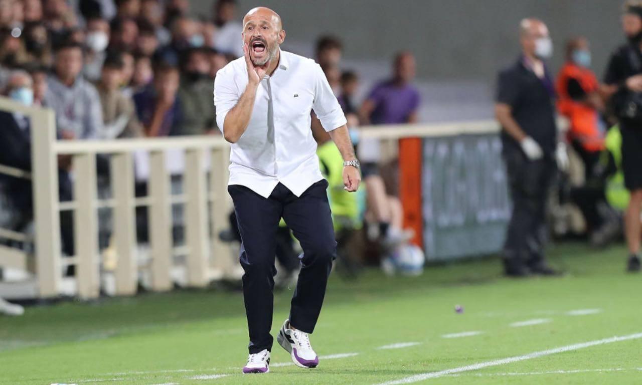 Vincenzo Italiano durante Fiorentina-Torino