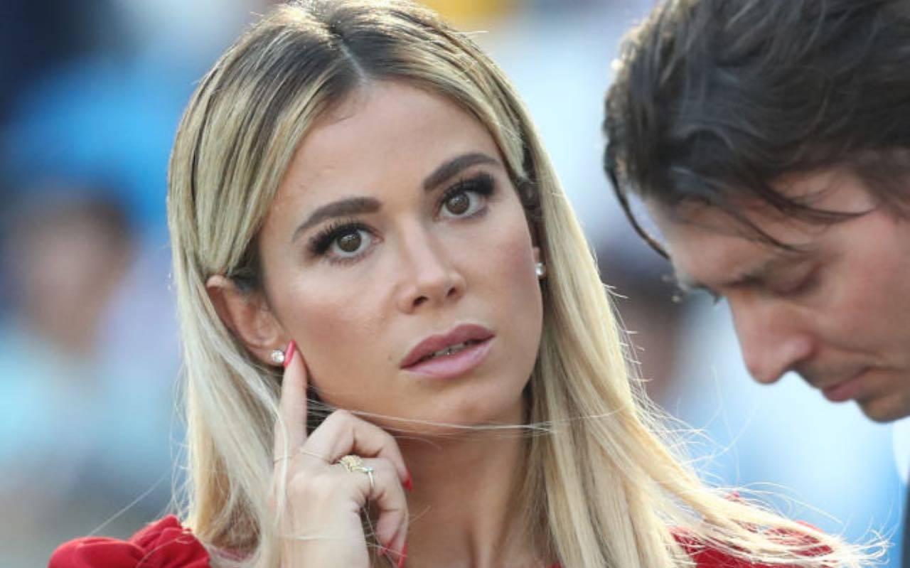 Diletta Leotta in campo in Serie A per DAZN
