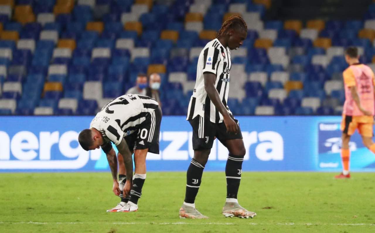 Kean in Napoli-Juventus