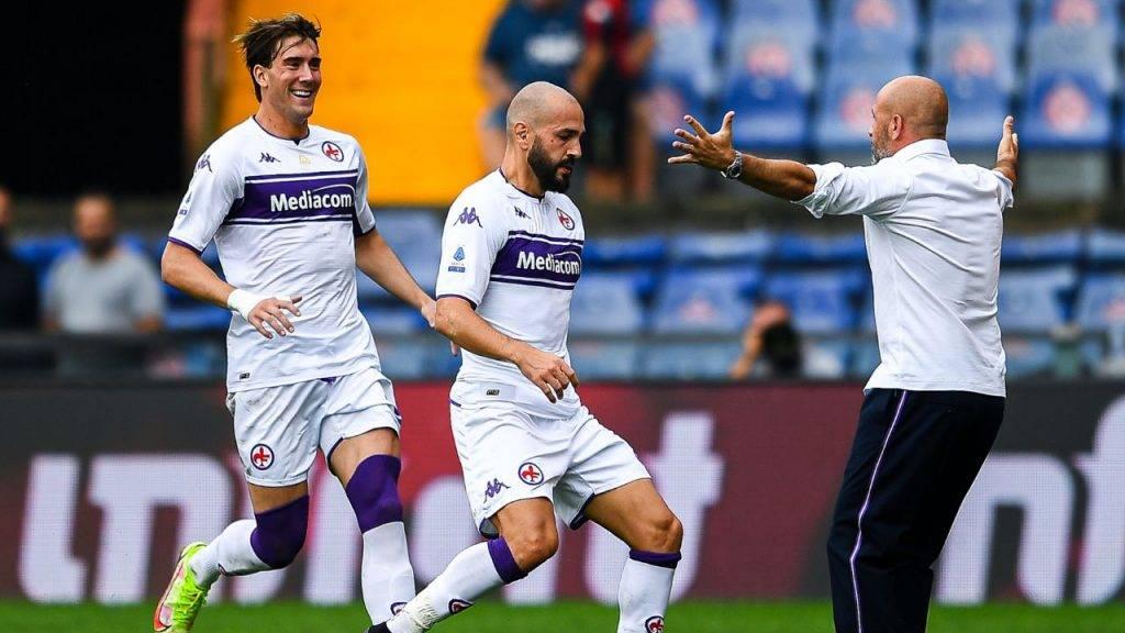 Vlahovic Saponara Fiorentina
