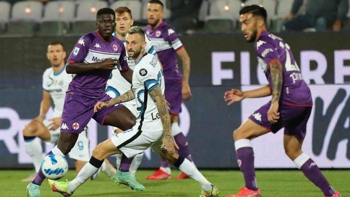 Fiorentina-Inter in campo