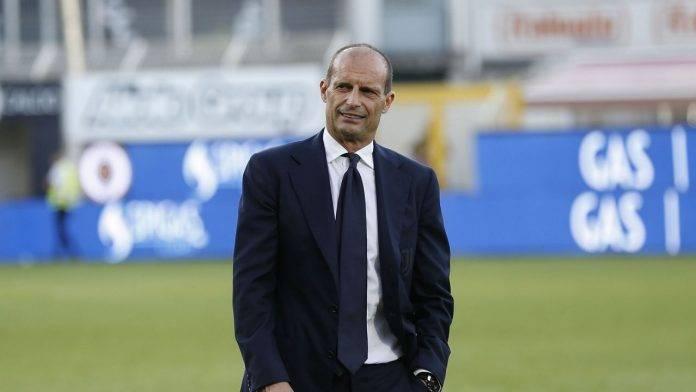 Torino-Juventus, Allegri in campo