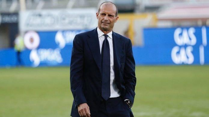 Il tecnico della Juventus Allegri soddisfatto