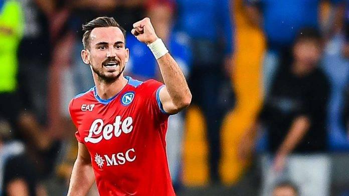 Fabian Ruiz esulta Napoli