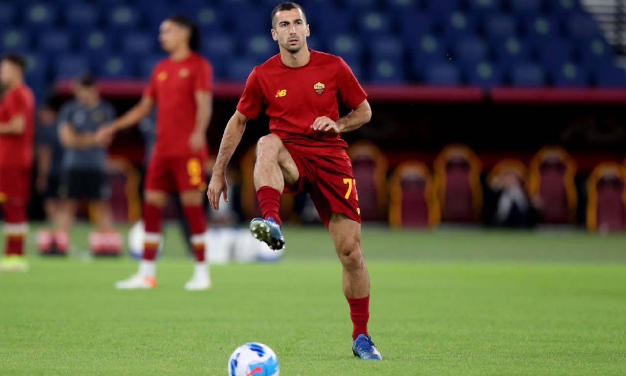 Mkhitaryan in Roma-Udinese
