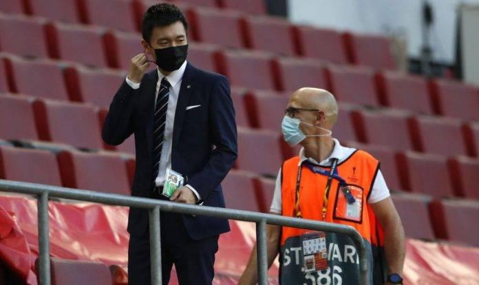 Inter, Zhang sugli spalti