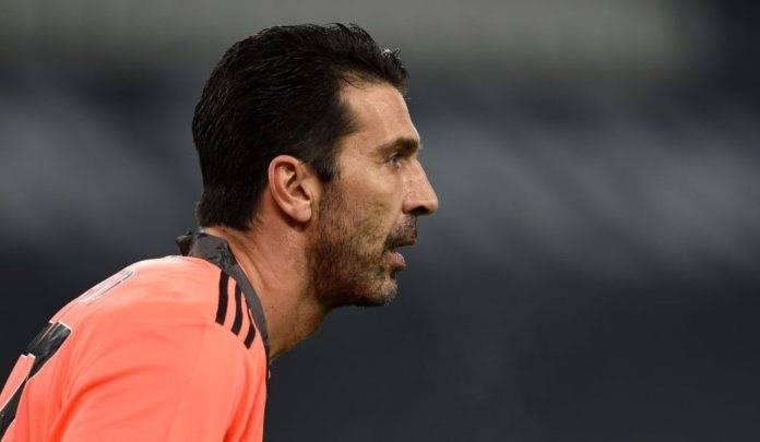 Buffon in Juventus-Inter