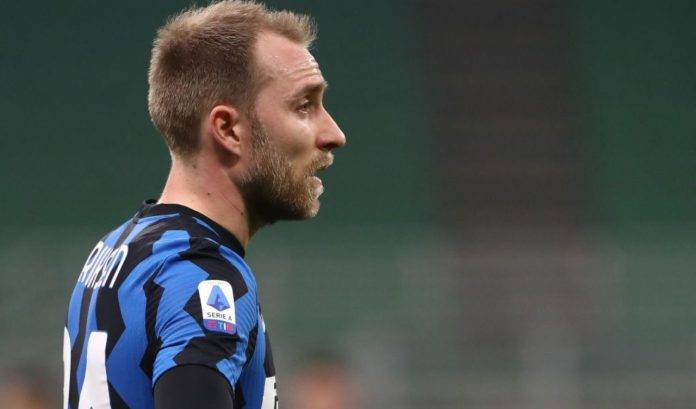 Eriksen in Inter-Atalanta