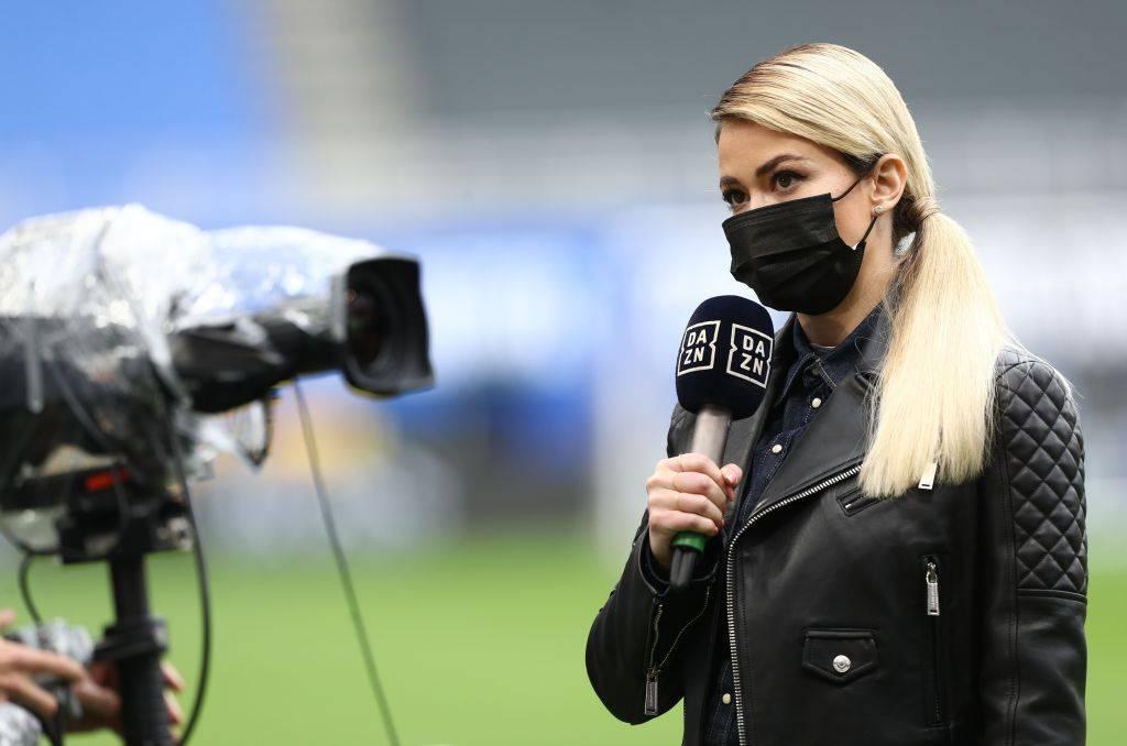 Diletta Leotta a DAZN in Serie A