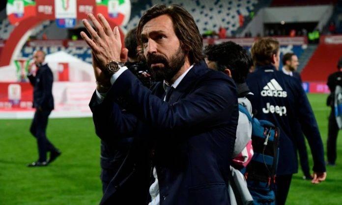 Pirlo in Atalanta-Juventus