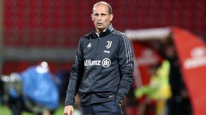 Allegri con la Juventus