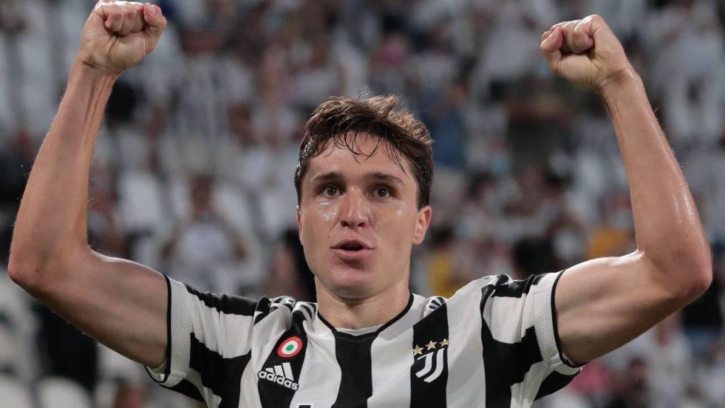 Chiesa della Juventus festeggia