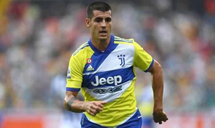 Morata in Udinese-Juventus