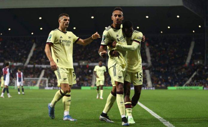L'Arsenal in Carabao Cup