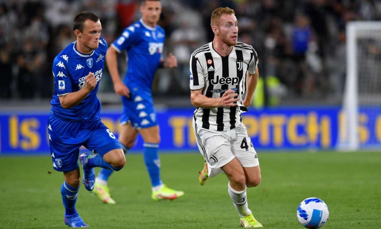 Kulusevski in Juventus-Empoli