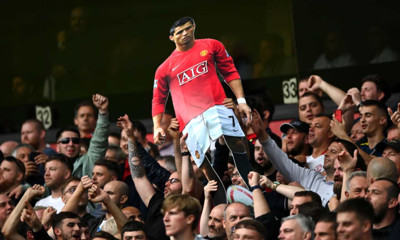 La gigantografia di Cristiano Ronaldo