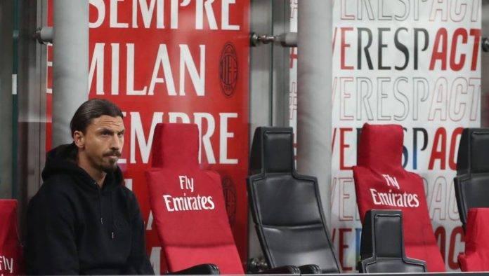 Ibrahimovic sulla panchina del Milan