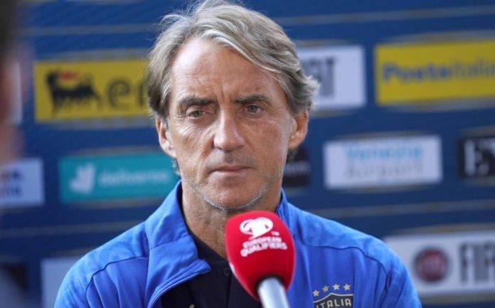 Mancini in conferenza verso Svizzera-Italia