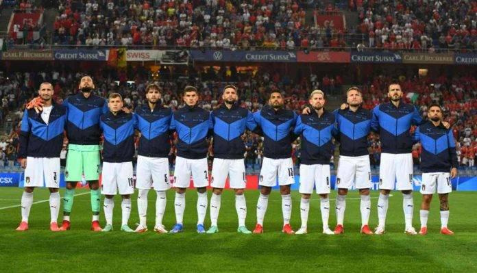 L'Italia canta l'inno